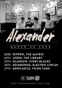 Alexander Tour Poster