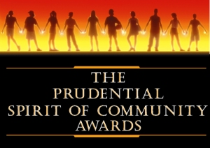 Prudential Spirit Of Community Awards Button