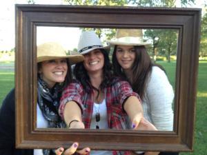 Kari, Abby, & I