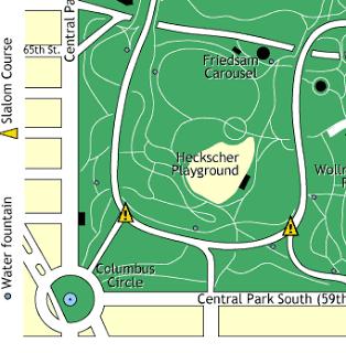 Heckscher Playground map