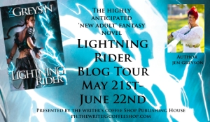 Lightning Rider Blog Tour Button