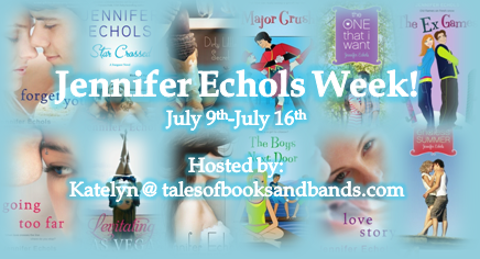Jennifer Echols Week