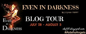 Even In Darkness Blog Tour Banner