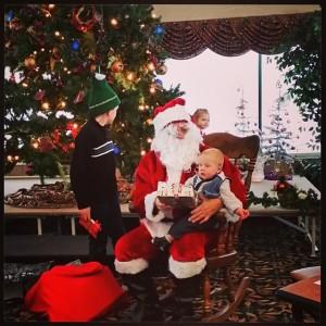 Henrik and Santa